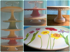 Cake Stands | Invited DIY