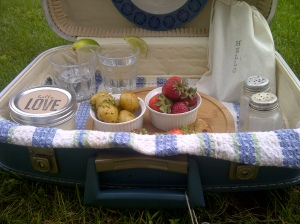 DIY Picnic Suitcase 2 | Invited DIY